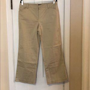 JCrew tan trousers Size 12 NEVER worn